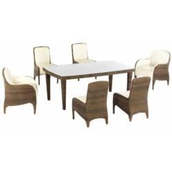 Luxor 6 személyes étkezőasztal
