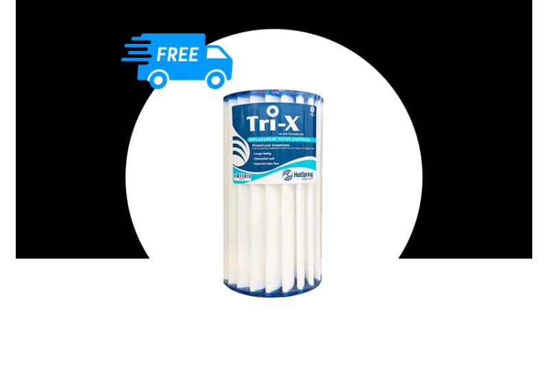 Tri-X Filter- kerámia szűrő