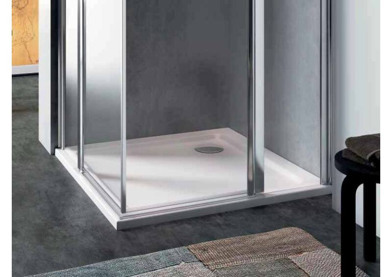 Glass Quickr zuhanytálca