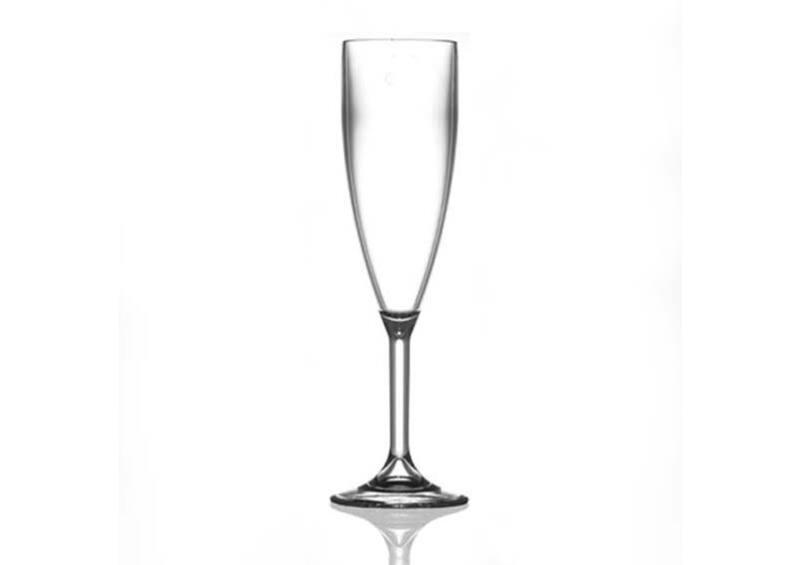 Pezsgős pohár 19cl - törhetetlen műanyag