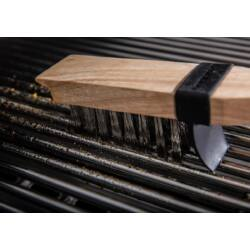 Hosszú sörtéjű grill rácstisztító kefe