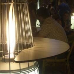 Tavolino kerek könyöklő és kávézó asztal - Italkero Dolce Vita teraszfűtéshez