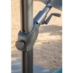 Jardinico Marbella Plus napernyő - 300x300 cm - talppal