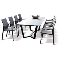 Evora 220 cm-es étkezőasztal