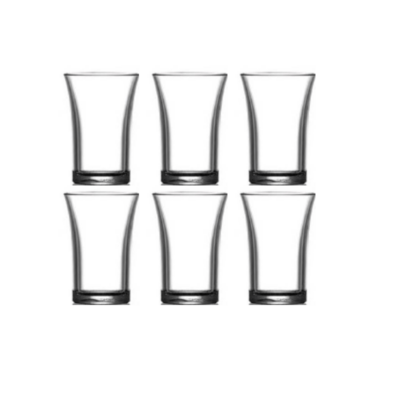 HAPPY SELECTION- Pálinkás pohár szett  3.5 cl - törhetetlen műanyag