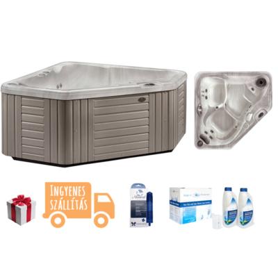 Caldera Spas - Aventine csomag - Aventine masszázsmedence + Aquafinesse csomag + Ezüst ion patron + Kiszállítás + Beüzemelés