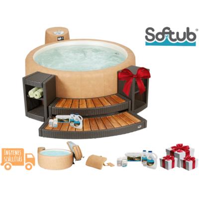 SOFTUB RESORT 300 CSOMAG - Softub Resort 300 + Kiegészítők ajándékba!