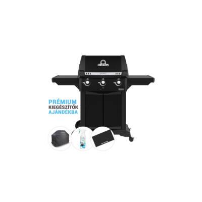 Signet 320 Limited Edition Black kerti gázgrill , grillsütő