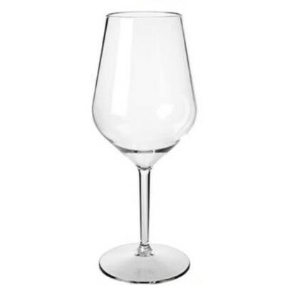 Fehérboros pohár 47 cl - törhetetlen müanyag