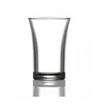 Pálinkás pohár 3.5 cl - törhetetlen müanyag
