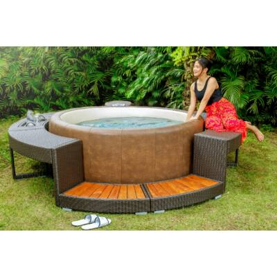 Softub Resort 300+ masszázsmedence Mocha