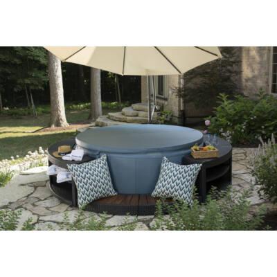 Softub Resort 300+ masszázsmedence Metallic Blue