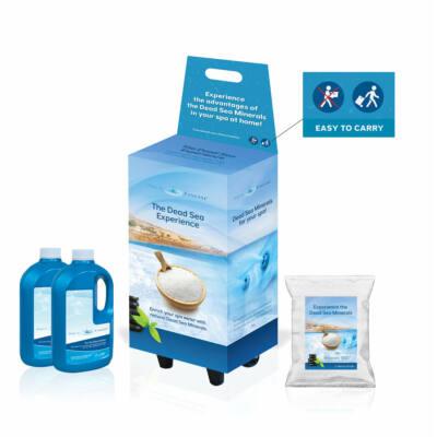 AquaFinesse vízkezelő szett - holttengeri sóval