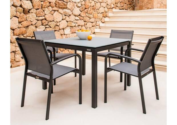 Juma étkezőasztal / Malaga étkező karosszék (4 személyes)