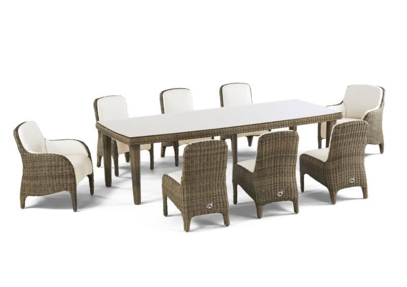 Luxor étkezőasztal 8 személyes