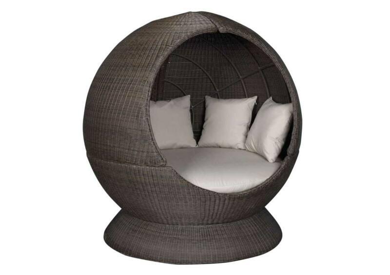 Nest gömb hátul zárt fotel + talp