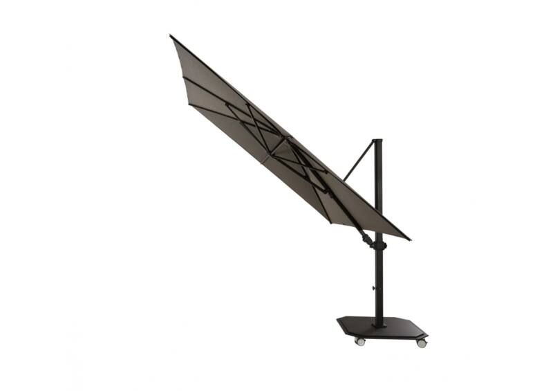 Jardinico Caracter napernyő- JCP.301- 300x300 cm - talppal
