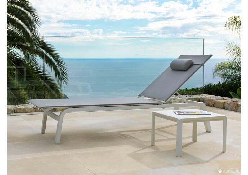 Aspen kisasztal - White