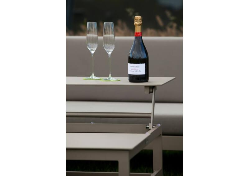 Miami felnyitható kávézó asztal - Champagne