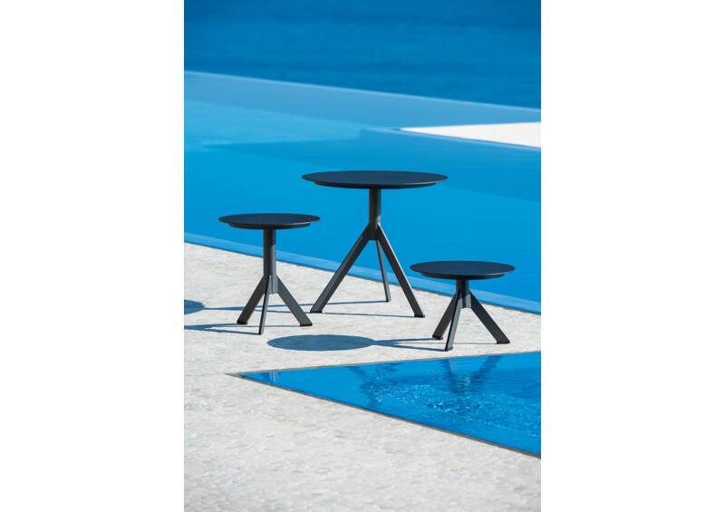 Reef kis kávézó asztal - Charcoal Mat