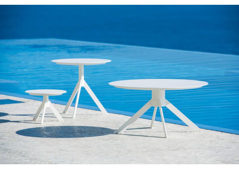 Reef kis kávézó asztal - White Mat