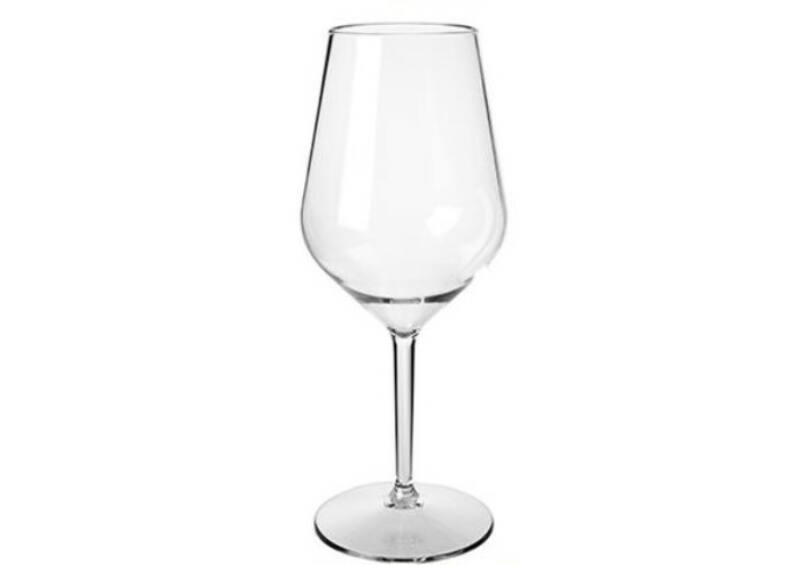 Fehérboros pohár Lady Abigel 47 cl - törhetetlen műanyag