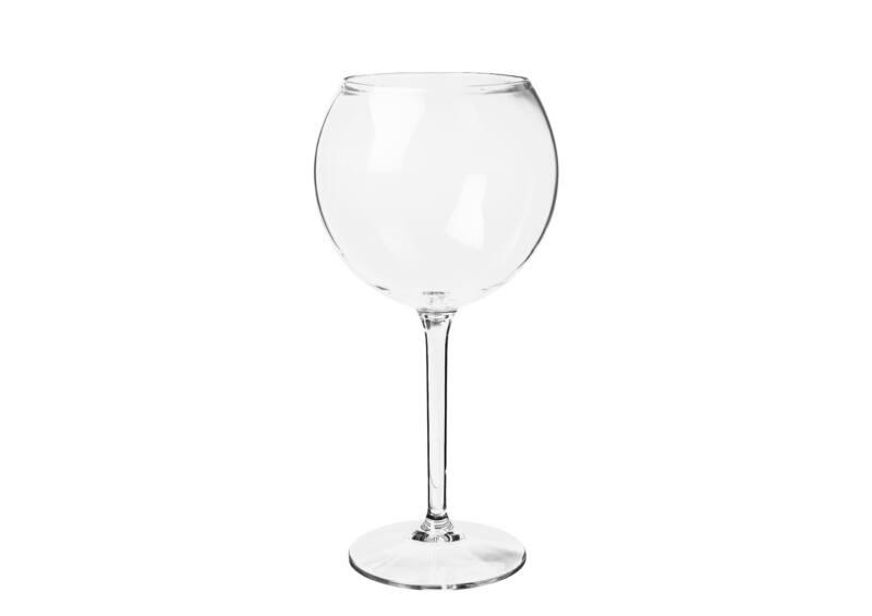 Vörösboros pohár  63 cl - törhetetlen műanyag