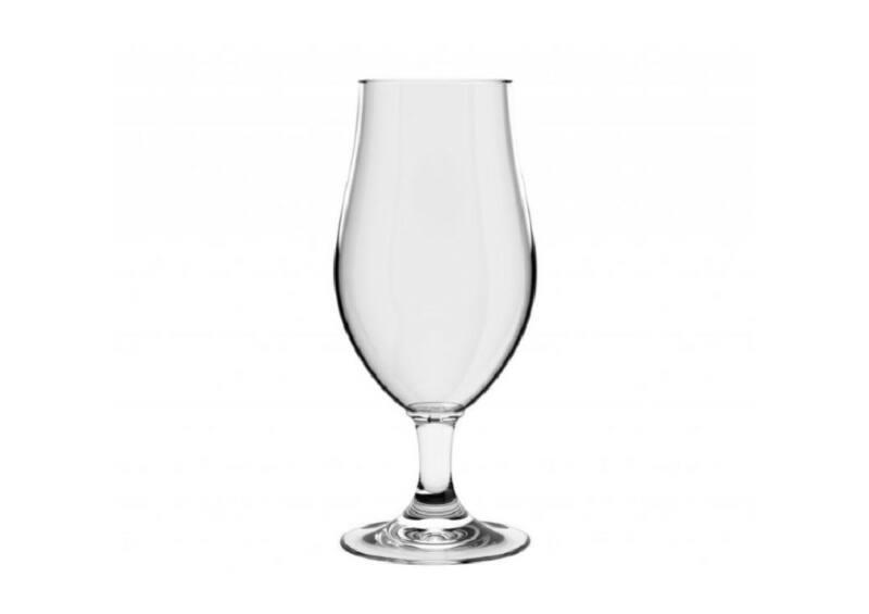 Talpas sörös pohár 50 cl Mr. Gustav - törhetetlen műanyag