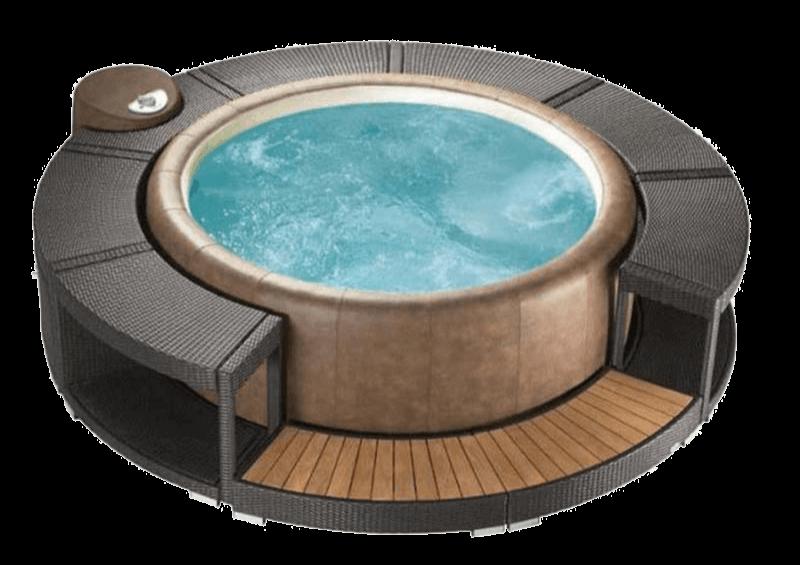 Softub kiegészítő - BOCA RATON Surround lépcső - Resort 300-as medencéhez