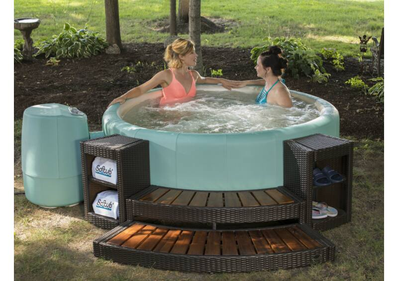 Softub LEGEND 220 masszázsmedence - Carribean Green