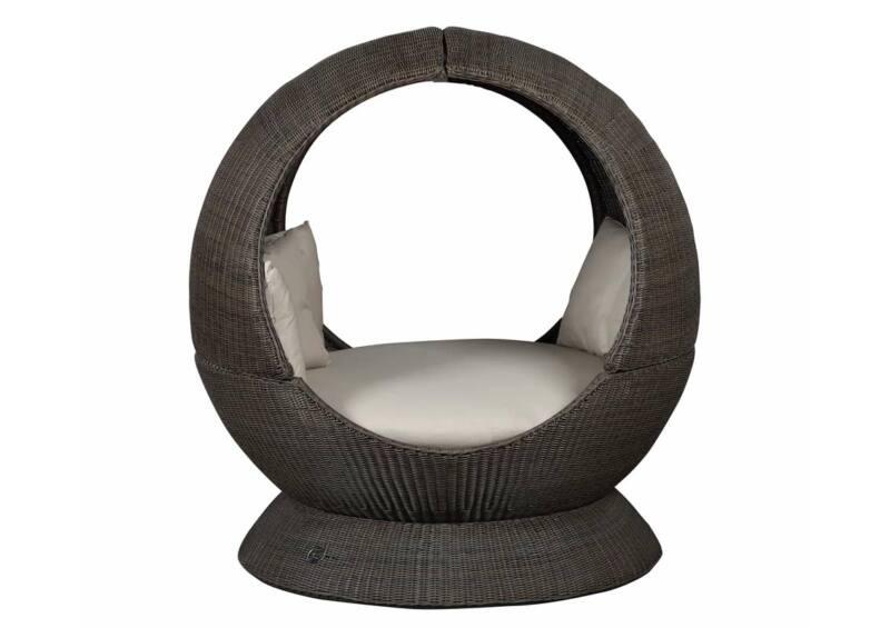 Nest gömb 2 oldalt nyitott fotel + talp