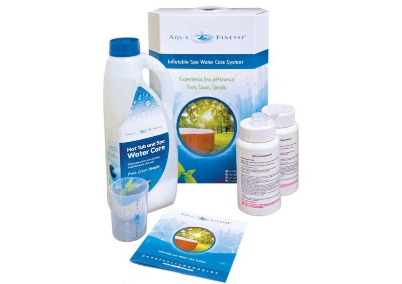 Aquafinesse vízkezelő adalékcsomag felfújható medencékhez