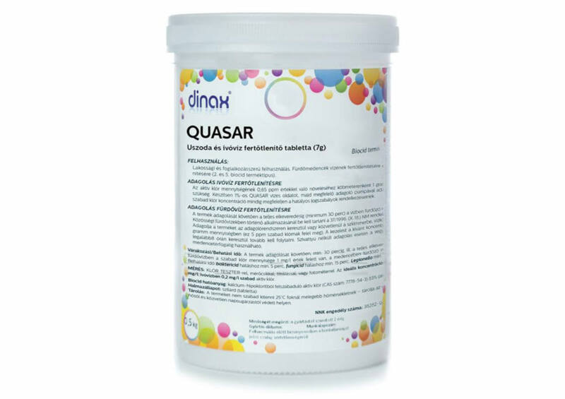 QUASAR tabletta (0,5 kg)