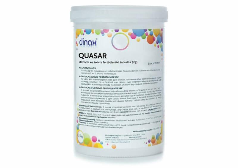 QUASAR - Kalcium-hipoklorit tabletta (0,5 kg)